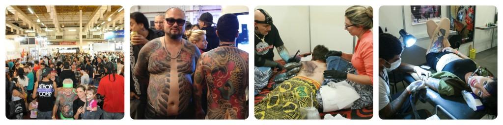 Luciano visits Tattoo Week São Paulo 2014