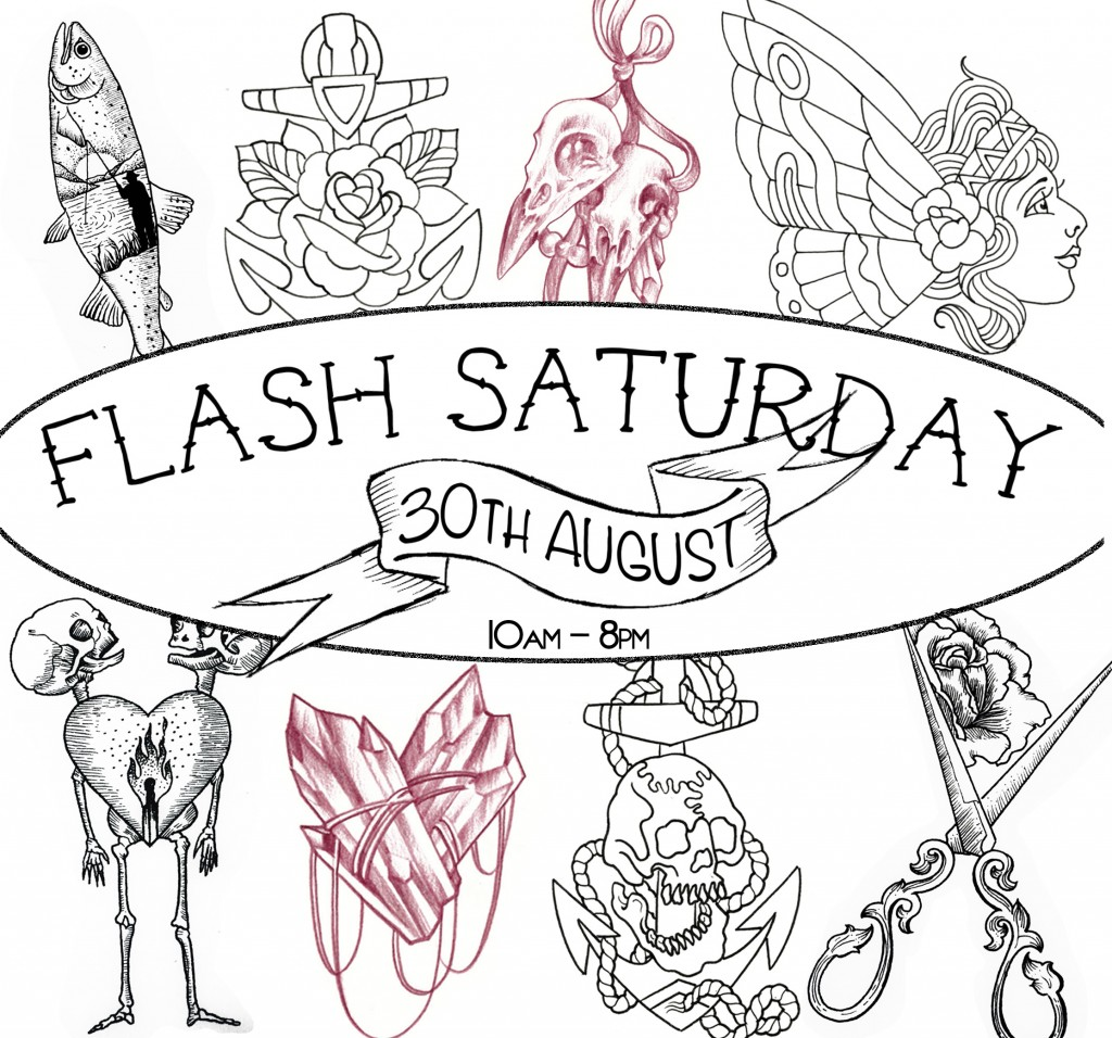 tattoo flash day sydney, tattoo flash, kaleidoscope tattoo flash, sydney tattoo flash, flash saturday