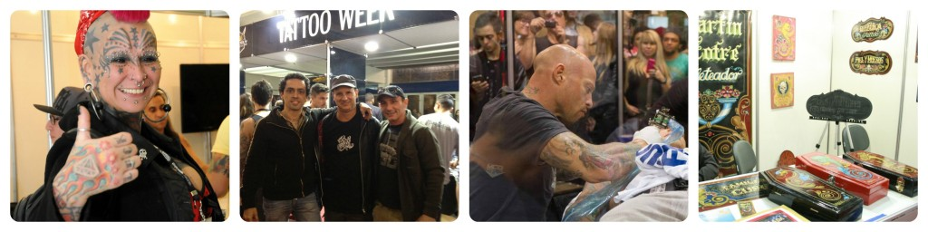 Ami James, Gaby Peralta, Luciano Lima and other photos from Tattoo Week São Paulo 2014