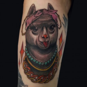 Sydney tattoo scene has a new visitor - London tattoo artist Ky Killjoy