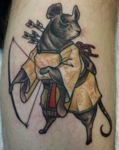 Sydney tattoo scene has a new visitor - London tattoo artist Ky Killjoy